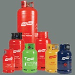 Isle of Wight Flogas Cylinders