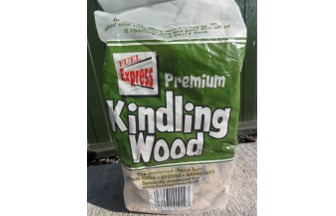 Kindling wood to start a fire